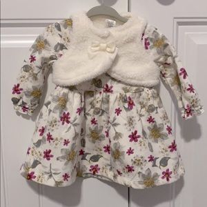 NWOT Carter's Baby Girl Dress - size 6 months